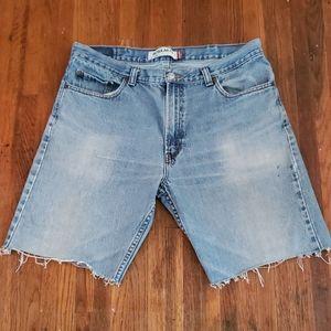 Levi's 505 Cut Off Jean Shorts